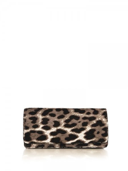 Animal Print Valentine Clutch