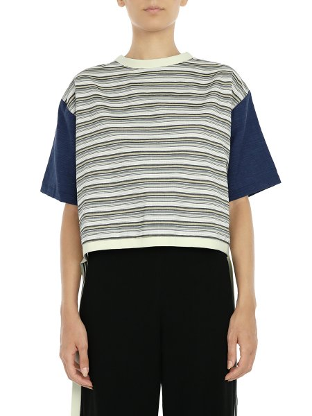 Asymmetric Top With Stripes