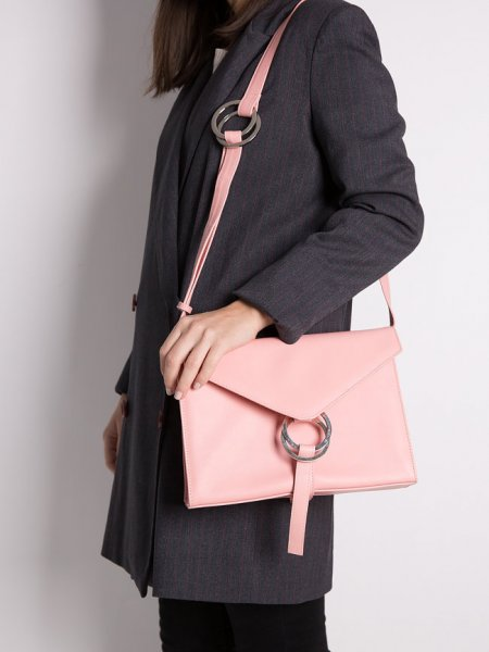 Baby Pink Shoulder Bag