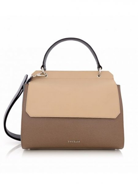 Beige Adaliz Shoulder Bag