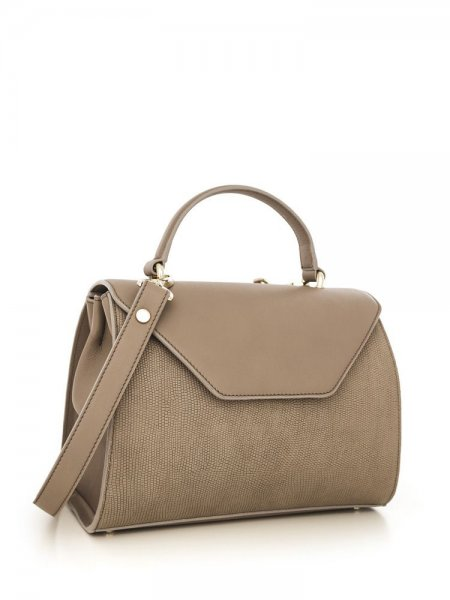 Beige Maria Shoulder Bag
