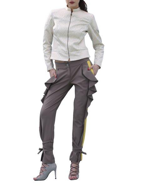 Beige Structured Jacket