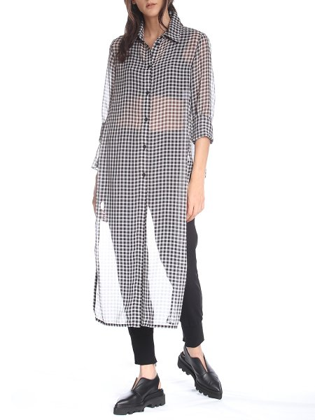 Black & White Multifunctional Shirt