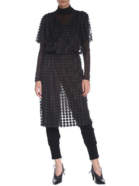 Black 3D Tunic Dress