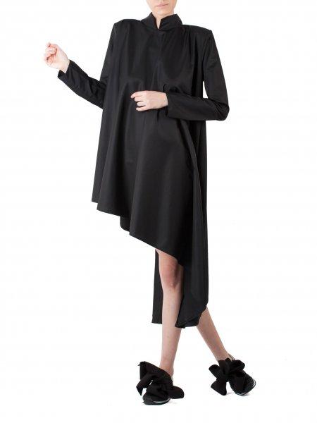 Black Asymmetric Dress