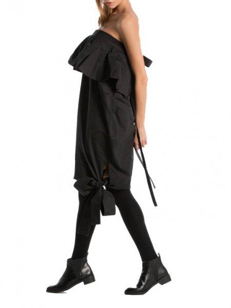Black Avant-Garde Dress