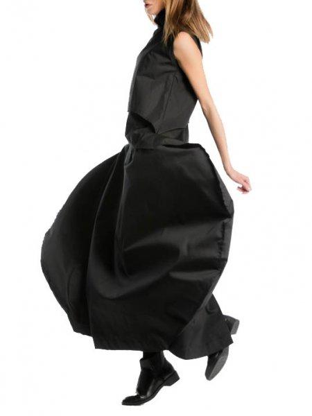 Black Avant-Garde Skirt