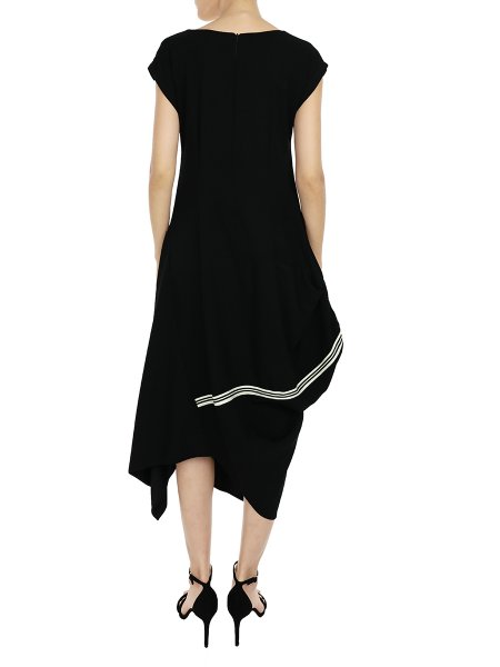 Black Balloon Dress