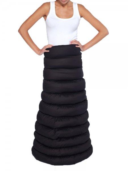 Black Deconstructive Skirt