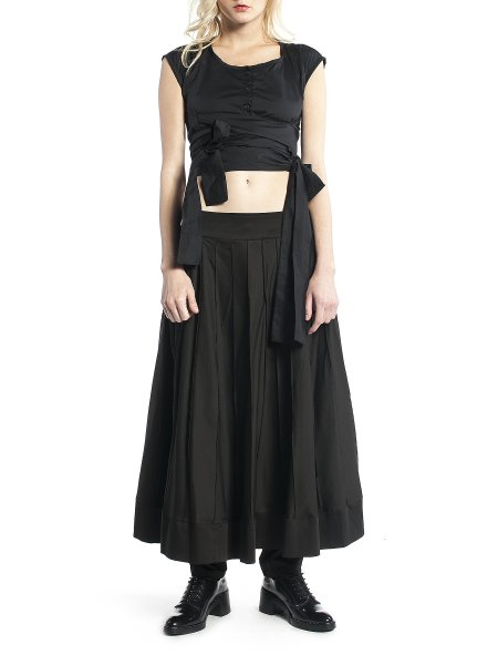 Black Loose Fit Trousers