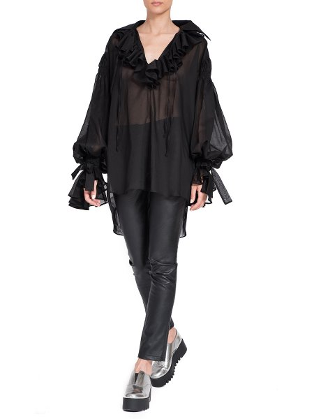 Black Oversized Shirt