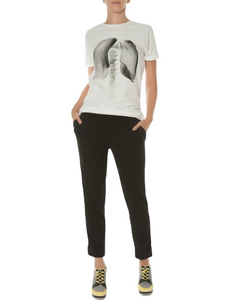 Black Trousers with Split Cuffs