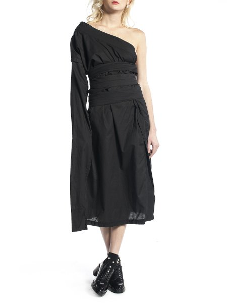 Black Tunic with Belts