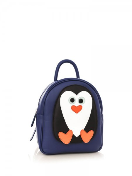 Blue Ami Penguin Backpack