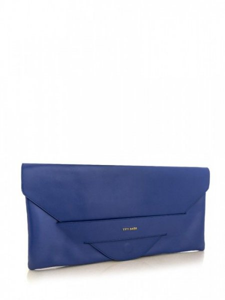 Blue Carmen Envelope