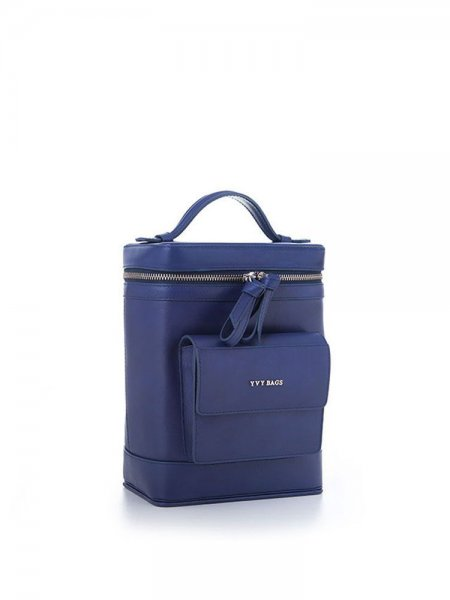 Blue Colette Structured Bag