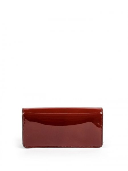 Bordeaux Valentine Clutch