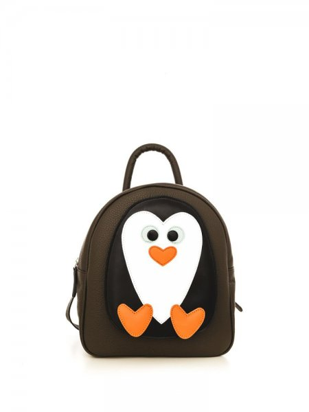 Brown Ami Penguin Backpack