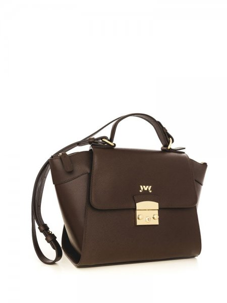 Brown Cinderella Shoulder Bag