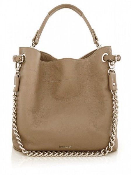 Camel Cecile Shoulder Bag