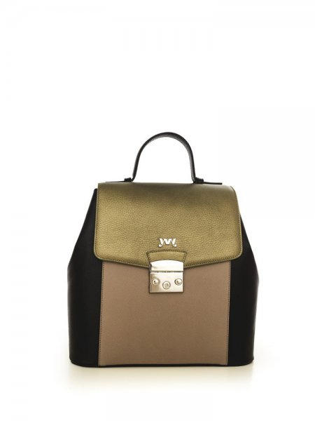 Caramel Aceline Safiano Backpack