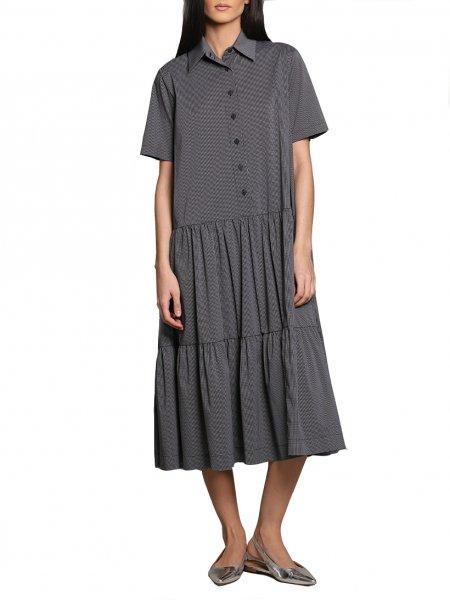 Dark Grey Oversized Dress