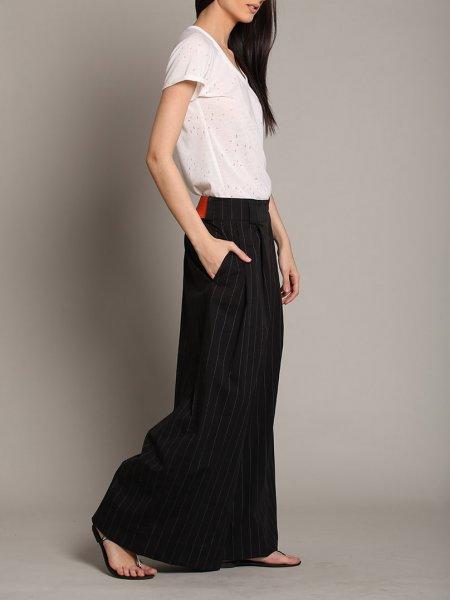 Dark Grey Oversized Trousers