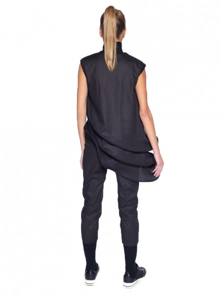 Deconstructive Black Jumpsuit