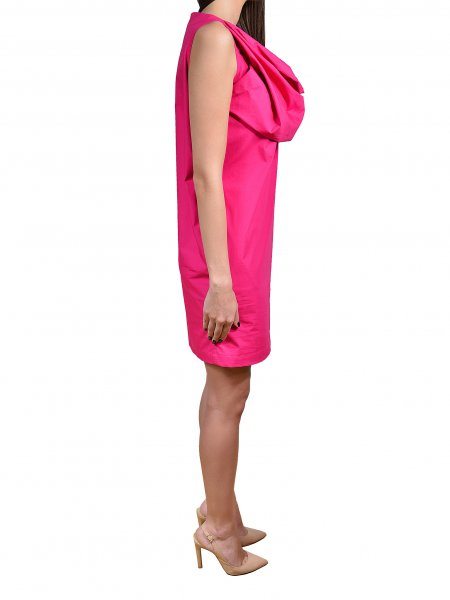 Fuchsia Mini Dress