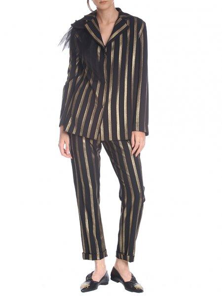 Gold Striped Jacket