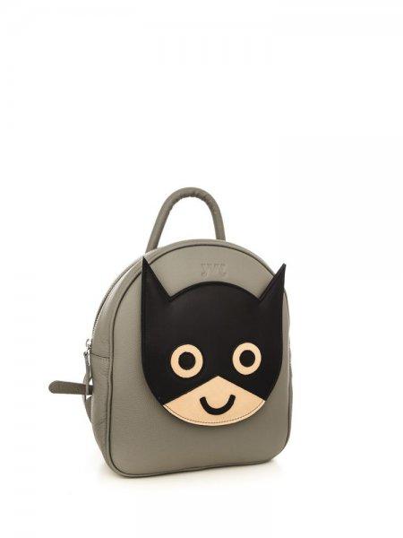 Grey Ami Batman Backpack