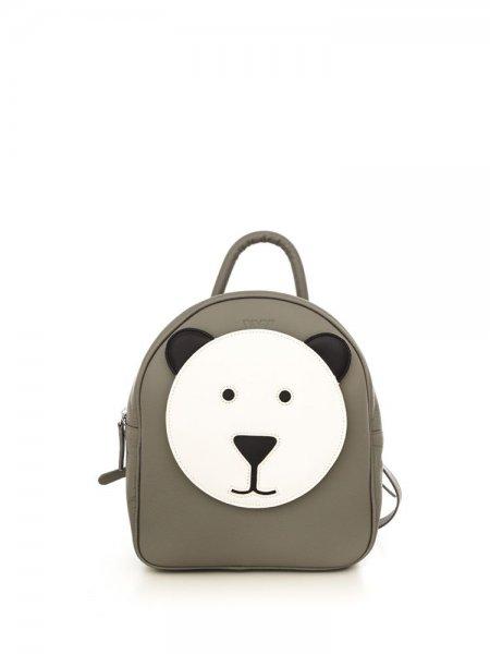 Grey Ami Bear Backpack