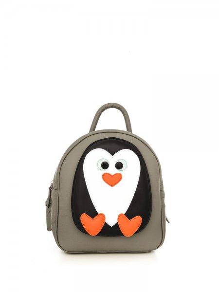 Grey Ami Penguin Backpack