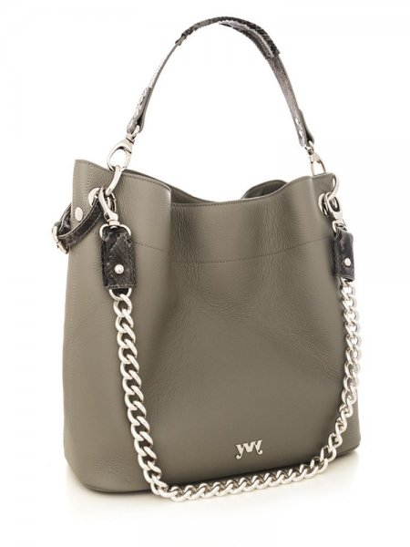 Grey Cecile Shoulder Bag