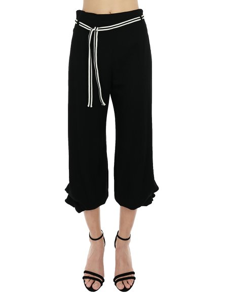 High Waisted Harem Trousers