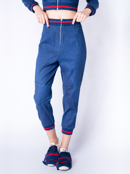 Intense Blue Denim Pants
