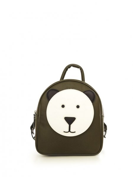 Khaki Ami Bear Backpack