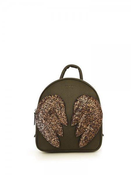 Khaki Ami Brown Wings Backpack
