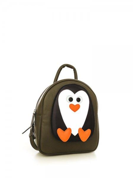 Khaki Ami Penguin Backpack