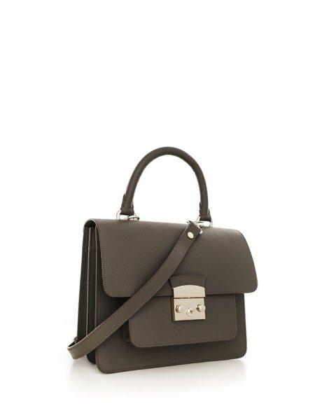 Khaki Clemence Bag