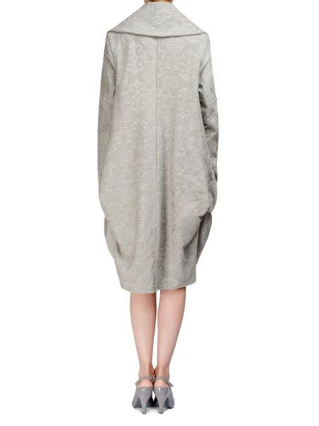 Light Gray Textured Coat