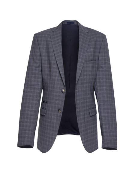 Light Grey Pleaded Jacket