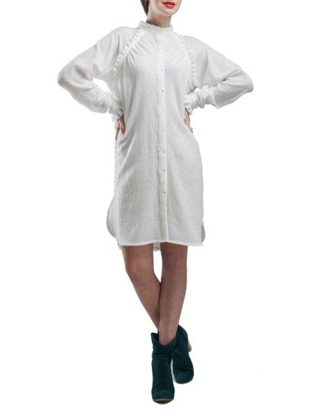 Long Sleeved Soft Cotton Dress