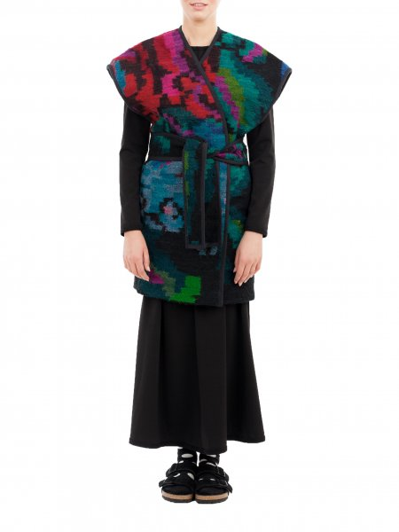 Long Traditional Wool Vest