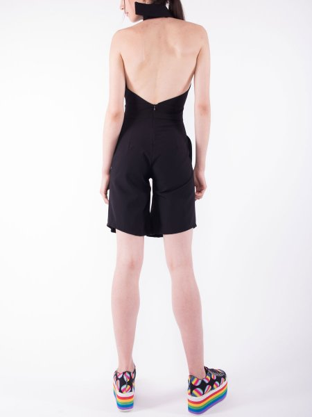 Midi Jumpsuit With Open Back
