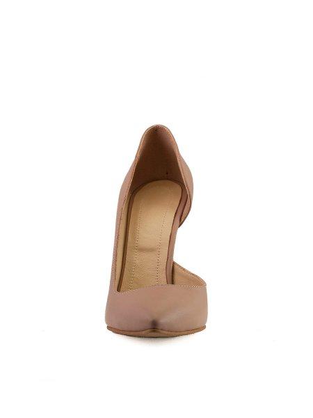 Nude Leather Stilettos