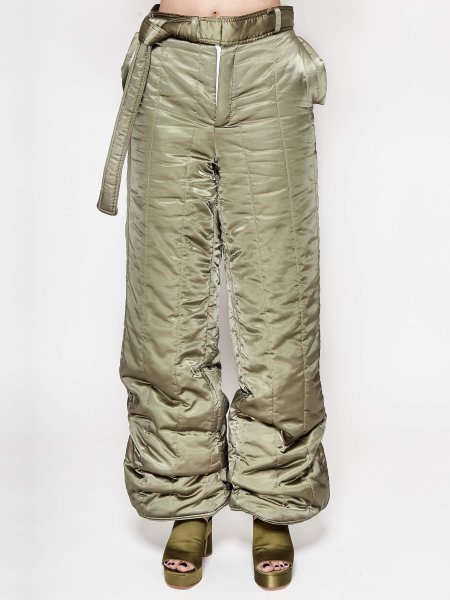 Olive Slicker Trousers