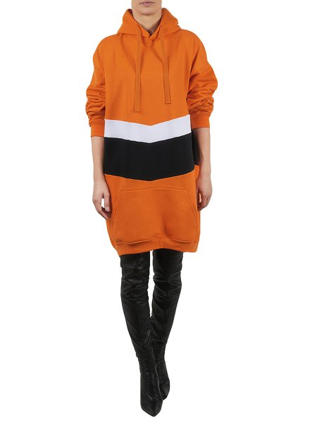 Orange Long Hoodie