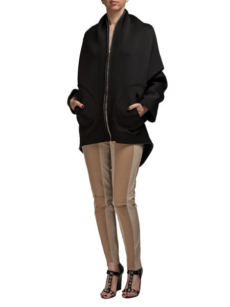Oversized Front Zipped Jacket