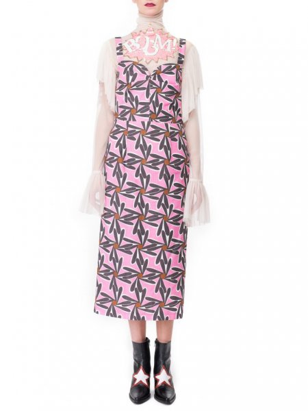 Peggy Flower Print Midi Dress